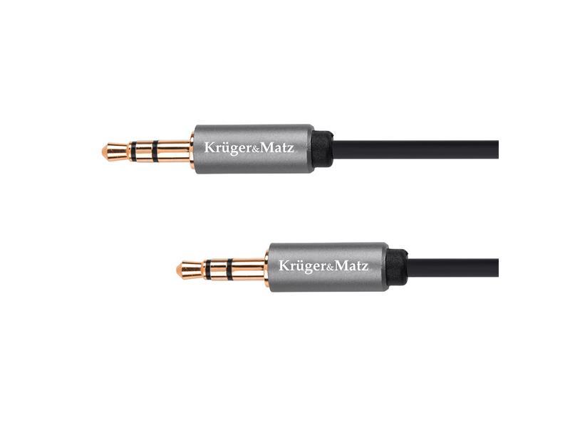Kabel KRUGER & MATZ JACK 3.5 konektor/JACK 3.5 konektor 3m KM1228 Basic