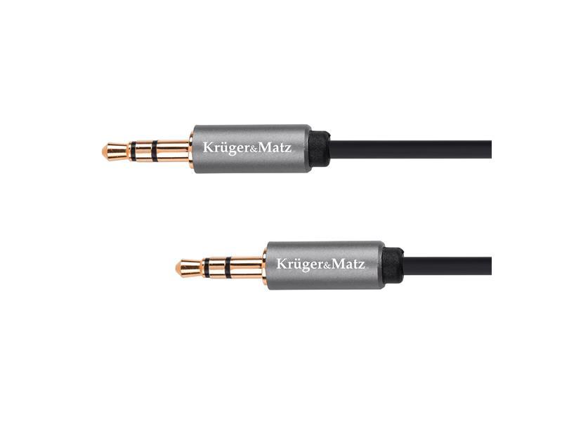 Kabel KRUGER & MATZ JACK 3.5 konektor/JACK 3.5 konektor 1,8m KM1227 Basic