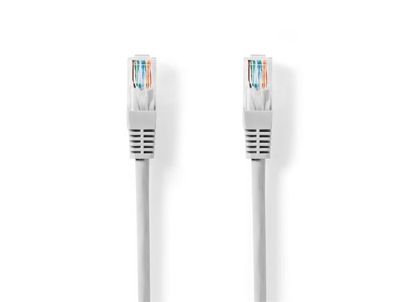 Kabel UTP 1x RJ45 - 1x RJ45 Cat5e 5m GREY NEDIS CCGT85100GY50