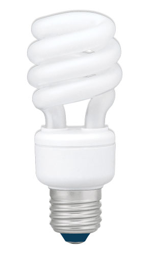 Žárovka úsporná Panasonic E27 18W (teplá)