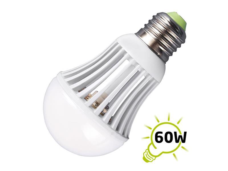 LED žárovka, výkon 7W, E27, studená