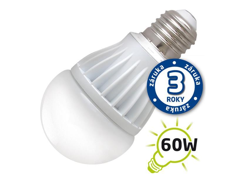 Žárovka LED A60 E27 10W bílá přírodní (Al) TIPA