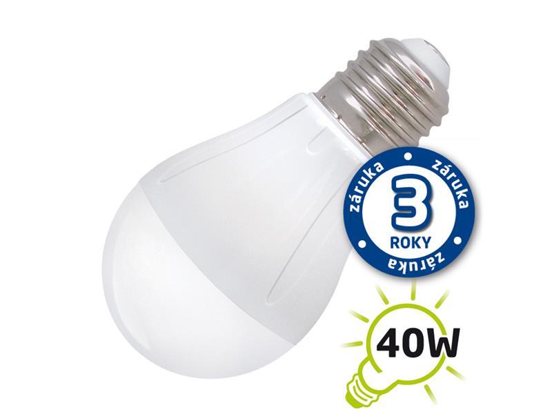 Žárovka LED A55 E27 5W bílá teplá (Pc) TIPA