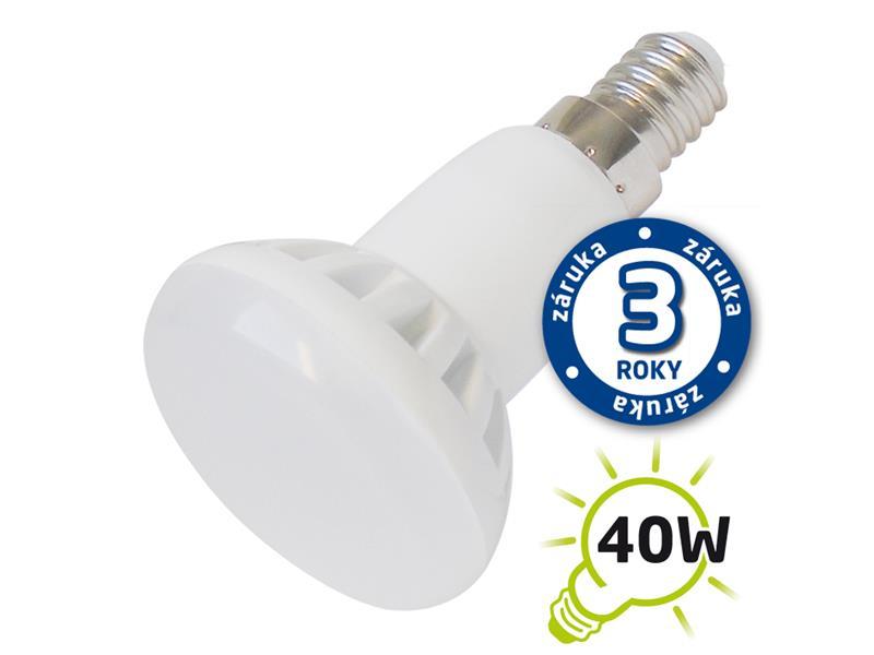 Žárovka LED R50 E14 5W bílá teplá TIPA