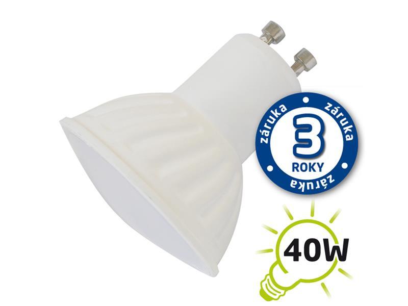 Žárovka LED SPOT GU10 5W bílá teplá TIPA