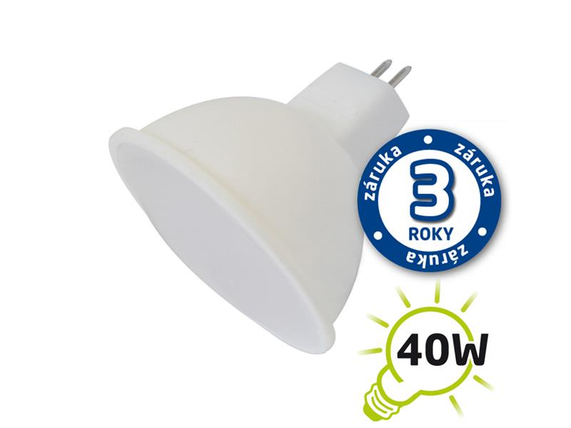 Žárovka LED SPOT MR16 5W bílá teplá TIPA