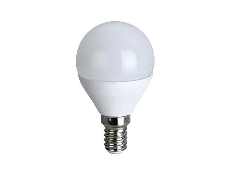 Žárovka LED E14  6W G45 bílá teplá SOLIGHT WZ416