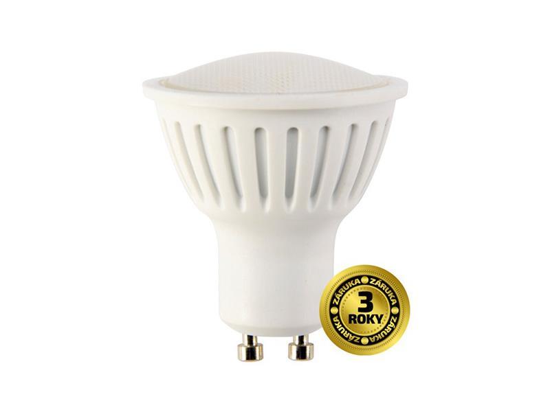 LED žárovka, bodová , 5W, GU10, 4000K, 400lm, bílá SOLIGHT WZ317
