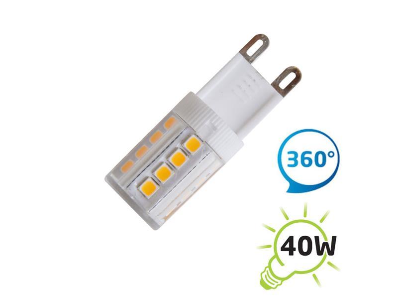 Žárovka LED G9 4W bílá teplá TIPA