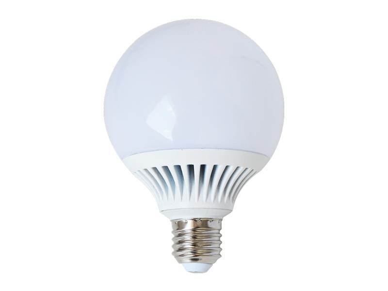 Žárovka LED G95 E27 12W bílá teplá (Al) TIPA