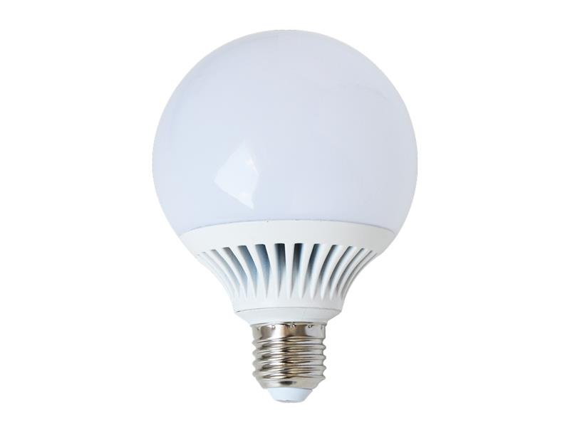 Žárovka LED G95 E27 12W bílá přírodní (Al) TIPA