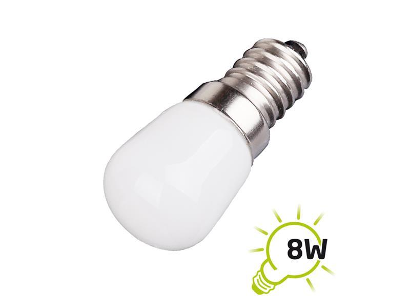 Žárovka LED do lednice a digestoře E14 1.5W bílá studená TIPA