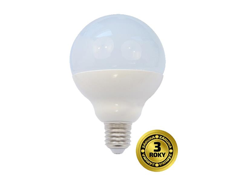 Žárovka LED E27 18W G90 bílá teplá SOLIGHT WZ513