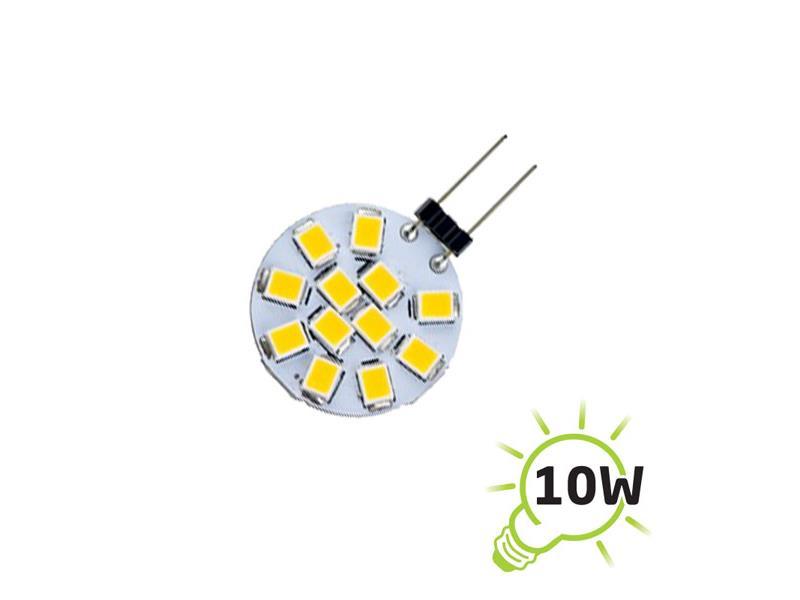 Žárovka LED G4 2835-12SMD, 1,2W - bílá přírodní TIPA