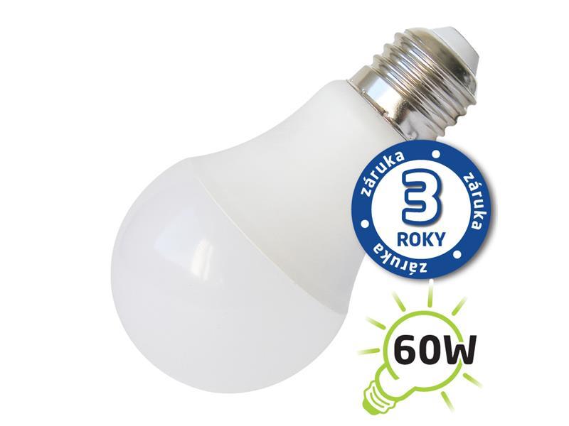 Žárovka LED A60 E27/230V 10W (Pc) - denní bílá (záruka 3 roky) TIPA