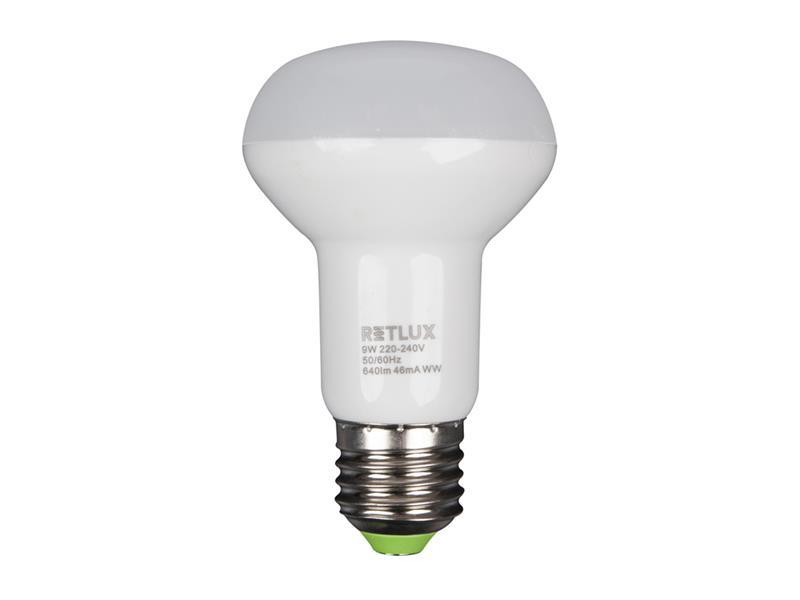 RLL 34 LED R63 9W E27 RETLUX