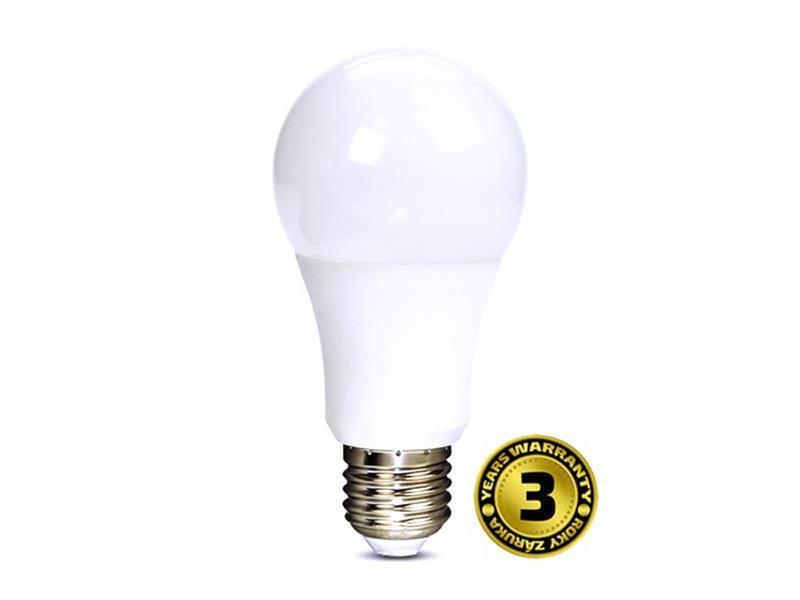 LED žárovka se stmívačem, A60, 10W, E27, 3000K, 270°, 810lm WZ518 bílá teplá
