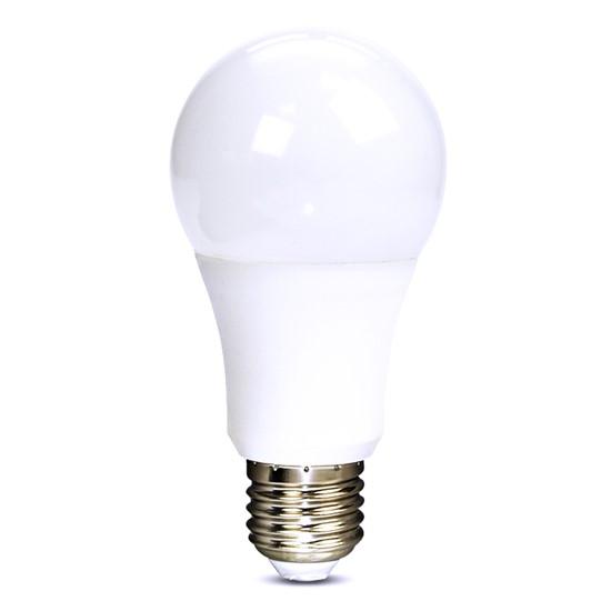 Žárovka LED E27 10W A60 bílá studená SOLIGHT WZ520