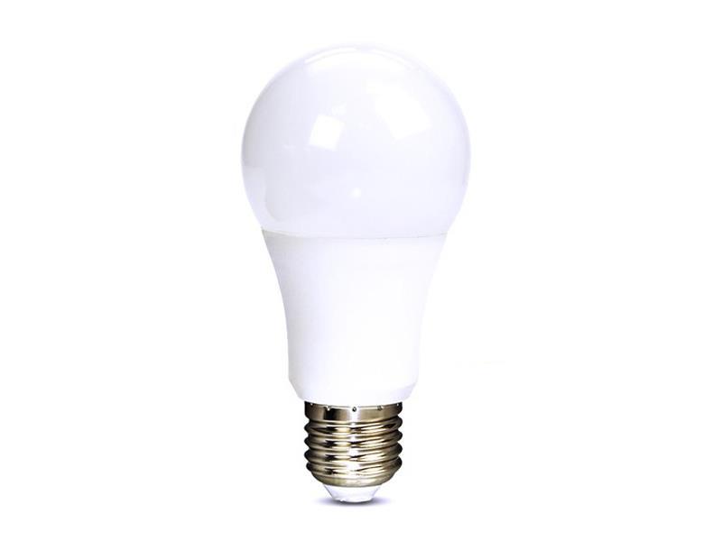 Solight LED žárovka, klasický tvar, 7W, E27, 4000K, 270°, 520lm bílá studená WZ517