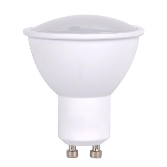 Solight LED žárovka, bodová , 5W, GU10, 6000K, 400lm, bílá