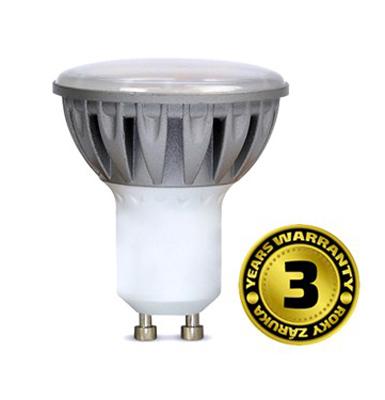 Žárovka LED SPOT GU10 7W bílá studená SOLIGHT