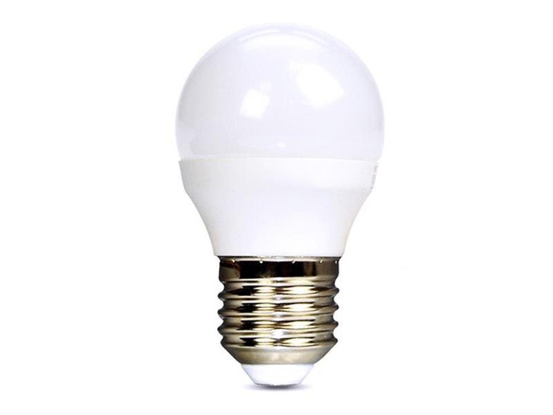 Žárovka LED E27  6W G45 bílá studená SOLIGHT WZ419