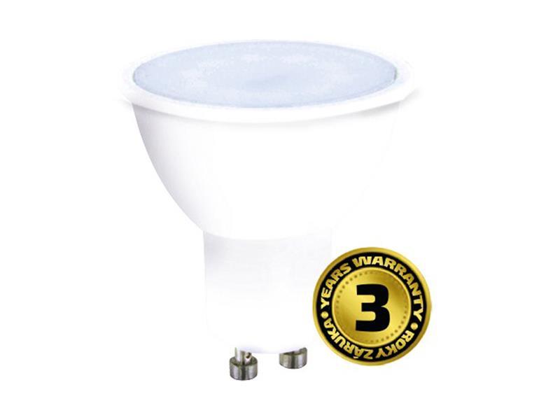 Žárovka LED GU10  3W SPOT bílá teplá SOLIGHT WZ314A