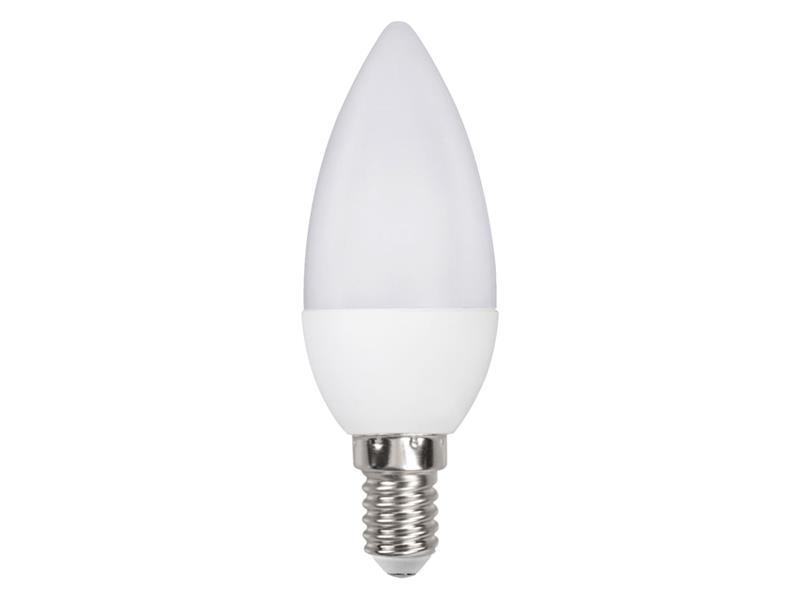 Žárovka LED C35 E14 6W bílá studená RETLUX RLL 261