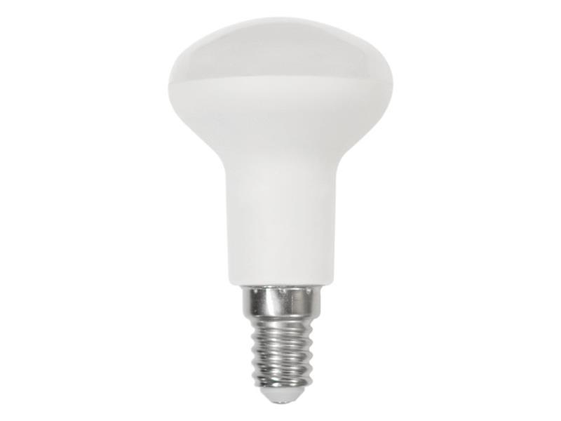 Žárovka LED E14  6W R50 SPOT bílá teplá RETLUX RLL 279