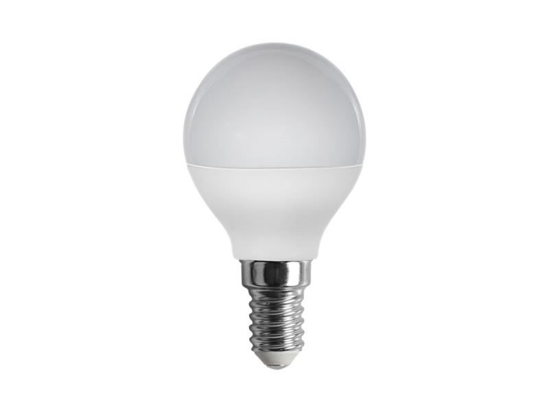 Žárovka LED E14  5W G45 bílá přírodní RETLUX RLL 274