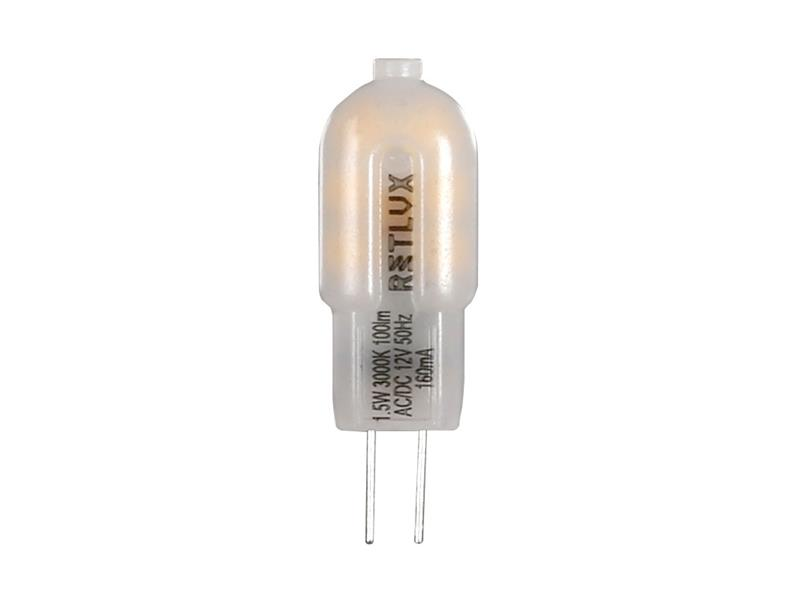Žárovka LED G4  1,5W teplá bílá RETLUX RLL 289