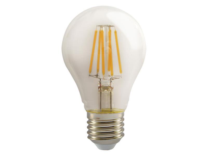 Žárovka Filament LED E27 6W A60 teplá bílá RETLUX RFL 219