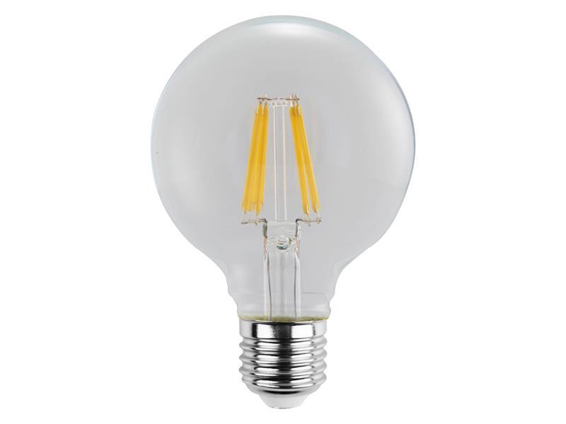 Žárovka Filament LED E27 6W GLOBE teplá bílá RETLUX RFL 222