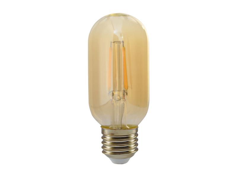 Žárovka Filament LED E27 4W T25 teplá bílá RETLUX RFL 227 Amber