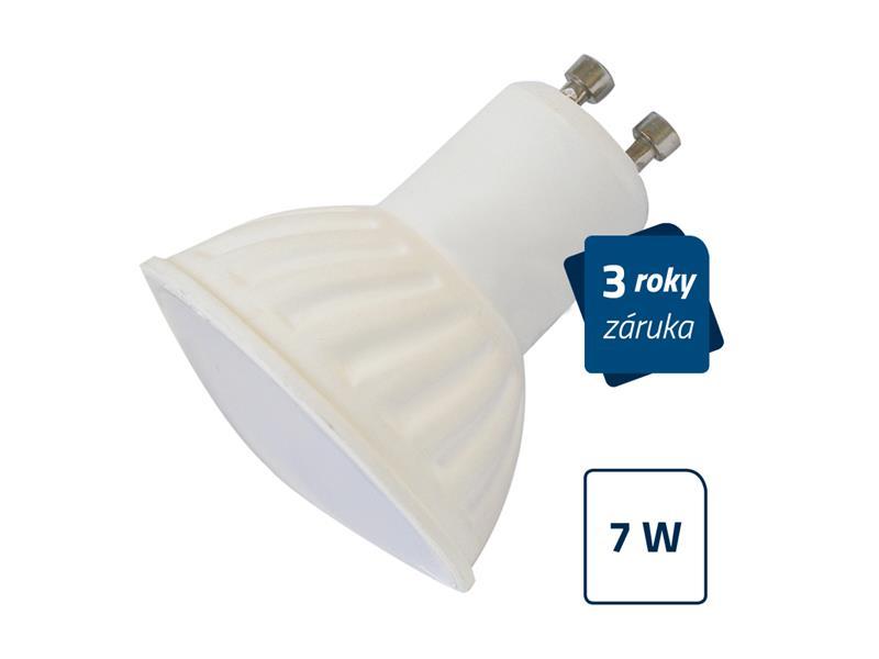 LED žárovka Geti SPOT, GU10, 7W, bílá teplá