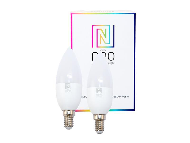 Žárovka LED E14 5W RGBW IMMAX NEO 07005B ZIGBEE DIM 2ks