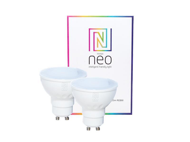 Žárovka LED GU10 3.5W RGBW IMMAX NEO 07006B ZIGBEE DIM 2ks