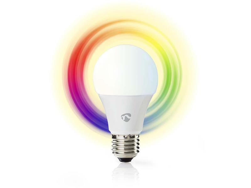 Žárovka LED E27 6W RGBW NEDIS WIFI
