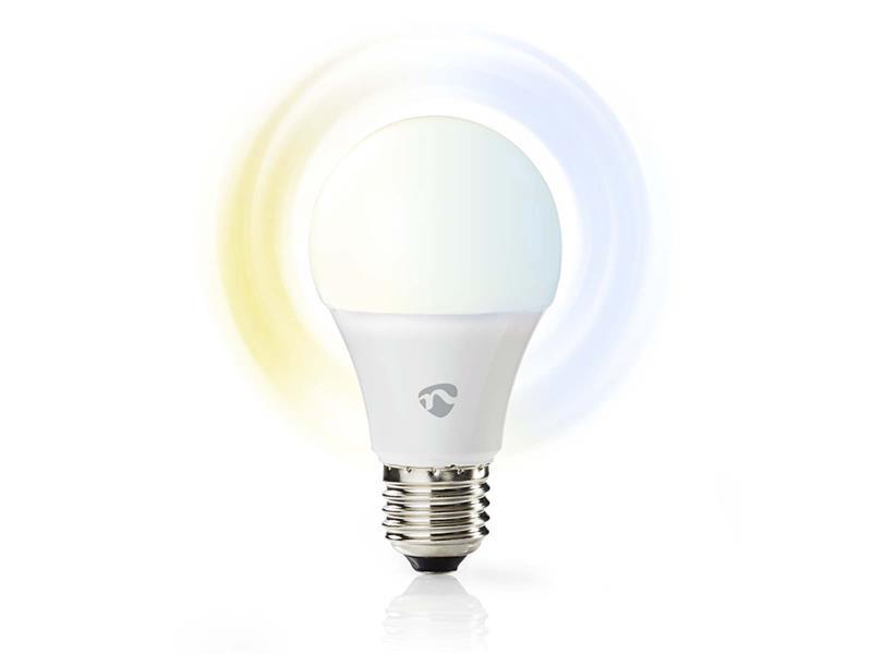 Žárovka LED E27 9W bílá NEDIS WIFI