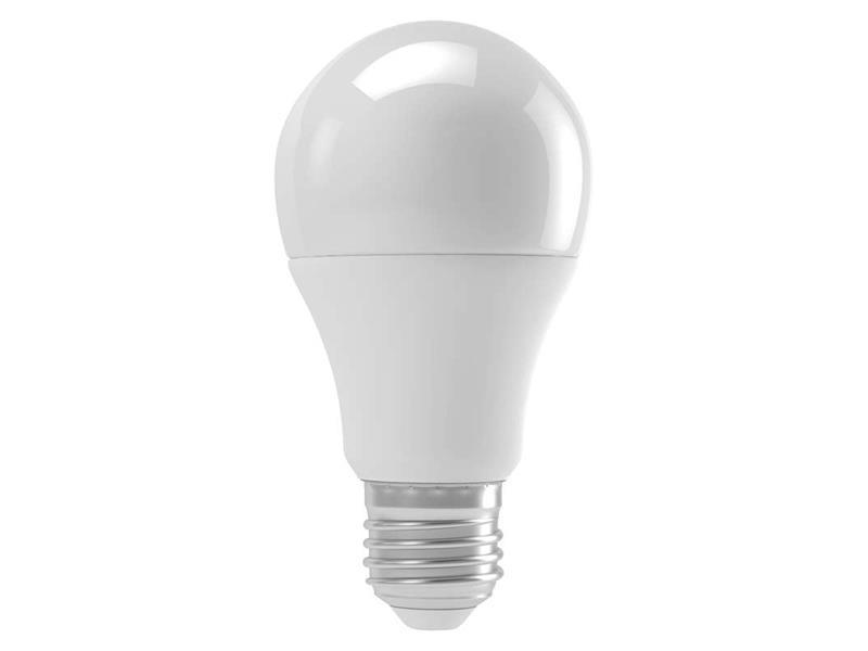 Žárovka LED E27  9W A60 bílá teplá EMOS ZQ5140M(senzor intenzity + mikrovlnný)
