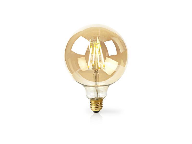 Žárovka LED E27 5W teplá bílá NEDIS WIFI