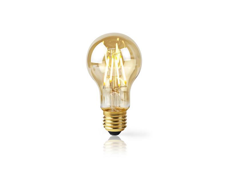 Žárovka LED E27 5W teplá bílá NEDIS BULB WIFI