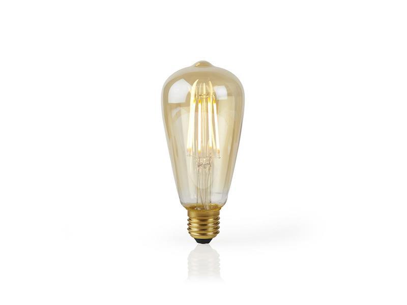 Žárovka LED E27 5W teplá bílá NEDIS CANDLE WIFI