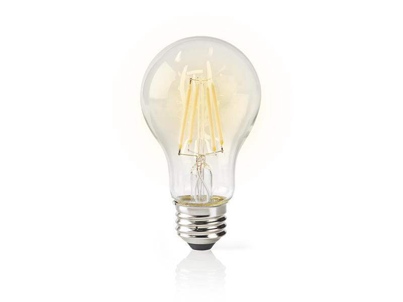 Žárovka LED E27 5W bílá NEDIS WIFI