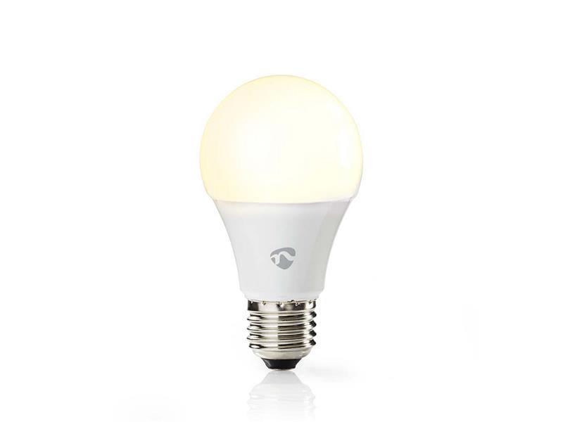 Žárovka LED E27 9W teplá bílá NEDIS WIFI