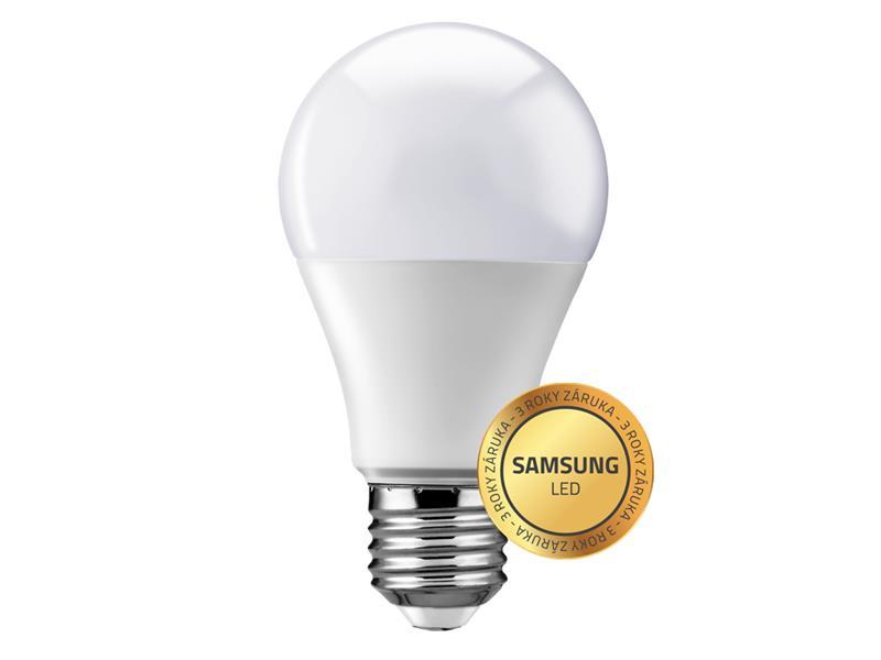 Žárovka LED E27  9W A60 bílá studená Geti SAMSUNG čip