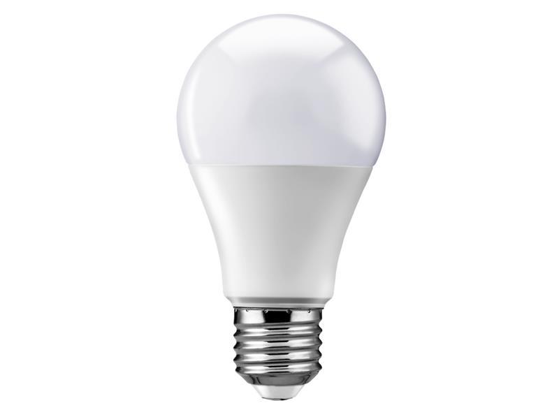 Žárovka LED E27 9W A60 bílá teplá Geti, SAMSUNG čip