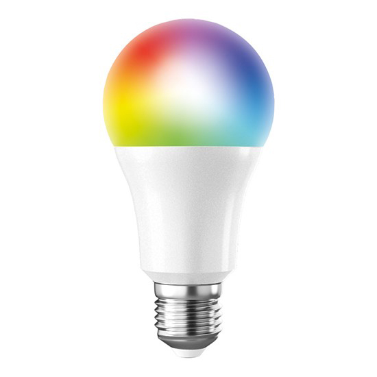 Chytrá WiFi žárovka LED E27 10W RGB SOLIGHT WZ531
