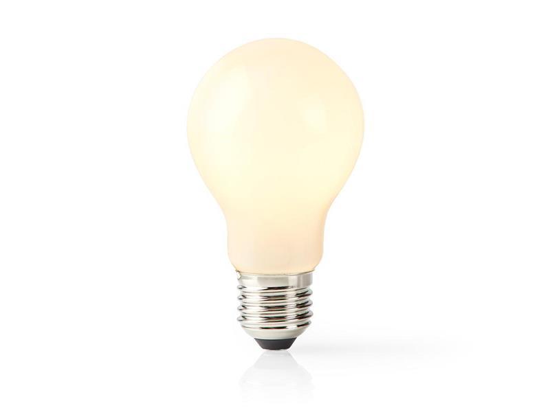 Chytrá WiFi žárovka LED E27 5W teplá bílá NEDIS WIFILF11WTA60 SMARTLIFE