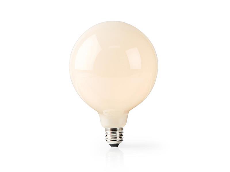 Chytrá WiFi žárovka LED E27 5W teplá bílá NEDIS WIFILF11WTG125 SMARTLIFE